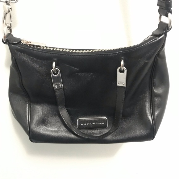 Marc By Marc Jacobs Handbags - Marc by Marc Jacobs Leather Black Crossbody
